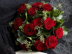 1 Dozen Long Stemmed Roses