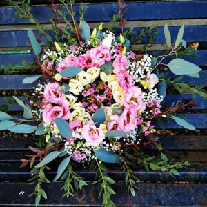 Pink Remembrance Wreath