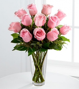The Long Stem Pink Rose B