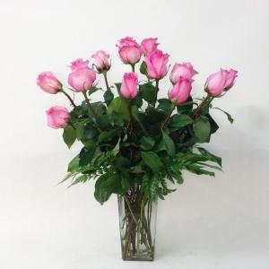 Dozen Roses - Pink