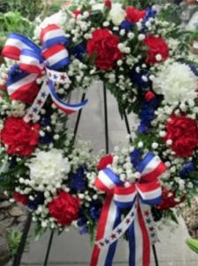Red, White & Blue Wreath