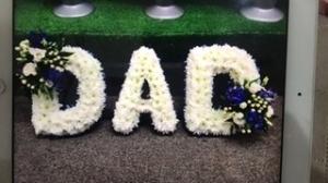 Dad Letter Frame