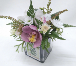 ORCHID VASE - PINKS