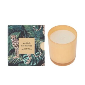 Vanilla And Sandalwood Scented Candle