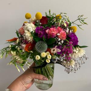 Vintage Jar Bouquet