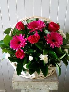 Basket Of Pinks