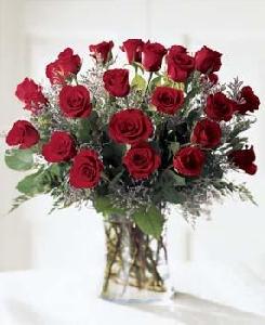 2 Dozen (24 Stems) Long Stem Red Roses