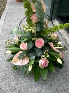 Funeral Basket Elegant