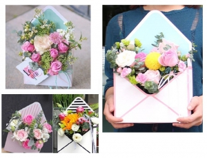 Envelope Flower Box