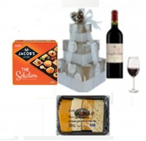 Cheese Tower & Wine Tower