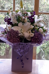Lilac And White Flowers