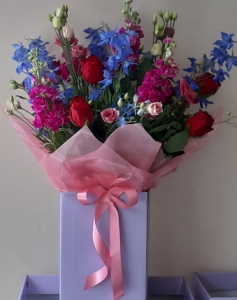 Large Box Of Flowers