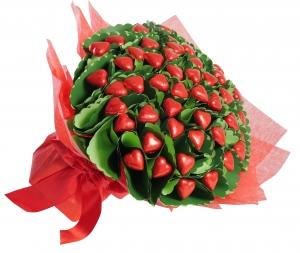 Four Dozen Chocolate Rose