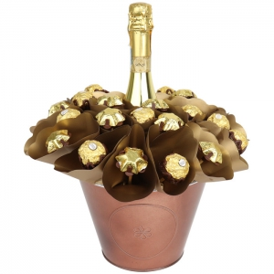 Luxury Prosecco Wine Bouq