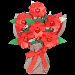 Half-dozen Red Roses Bouq