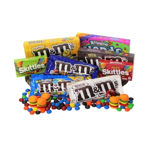 M&m's And Lolly Scramble