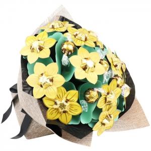 Golden Flower Bouquet Gra