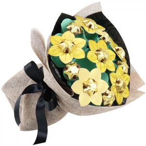 Golden Flower Bouquet Cla