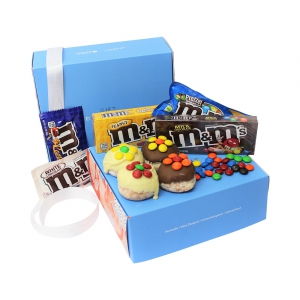 Donut And M&m Gift Box