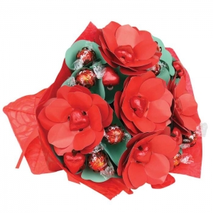 Luxurious Red Roses Bouqu