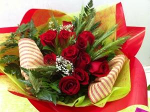 Sant Jordi Red Roses