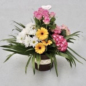 Centro Flor Multicolor