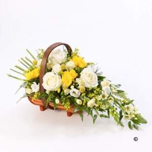 Mixed Basket Yellow&white