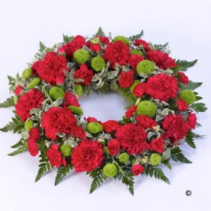 Classic Wreath Red&green