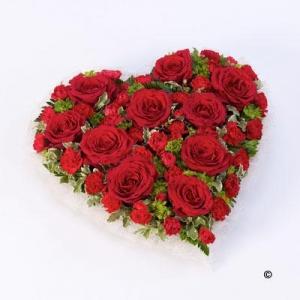 Rose&carnation Heart