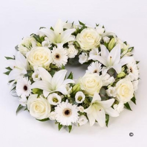 Rose & Lilly Wreath