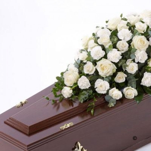 Rose & Carnation Casket