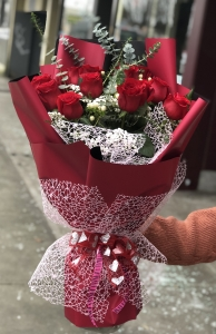 Love You Red Roses Bouque