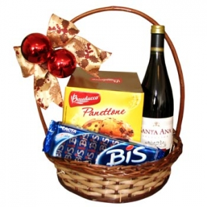 Star Of Christmas Basket