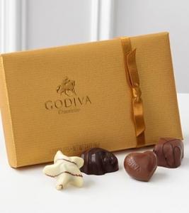 Godiva® Gold Ballotin 8pc