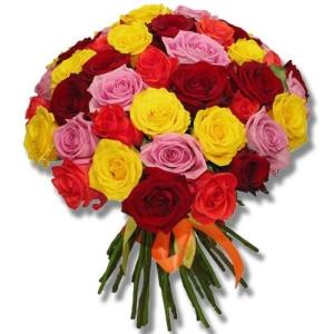 51 Mixed Roses