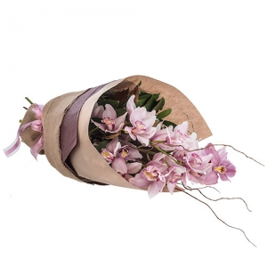 Elegant Orchid Wrap