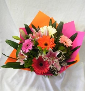 Gerbera And Lily Mix