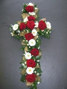 Stunning Sympathy Cross