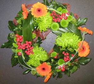 Modern Sympathy Wreath