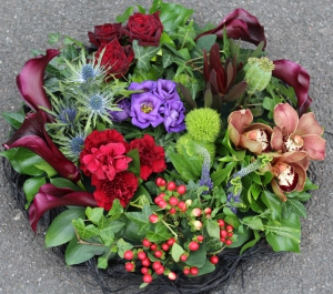 Mixed Cluster Wreath