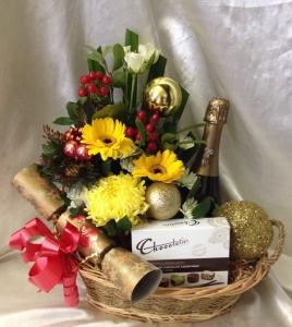 Festive Flowers Chocolate