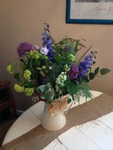Jug Of Cottage Blooms