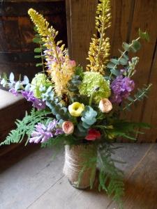 Pastel Textured Vase