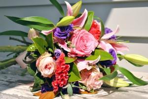 Vibrant Pink & Lilac