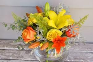 Citrus Zest In Vase