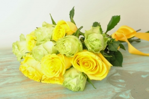 Roses Yellow X 12 Stems