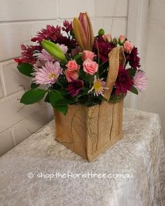 Florist Choice Jute Bag