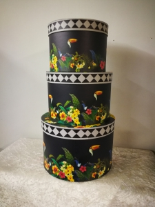 FC Vibrant Hat Box