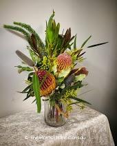 Wildflower Hurricane Jar