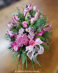 Pink Funeral Sheaf